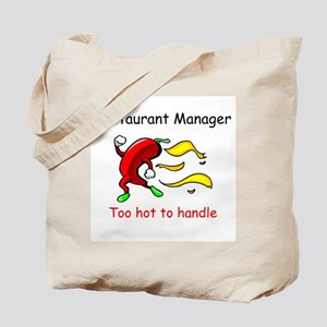 Restaurant Manager Tote Bag