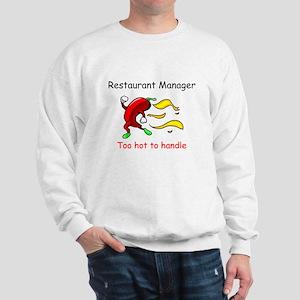 Restaurant Manager Sweatshirt