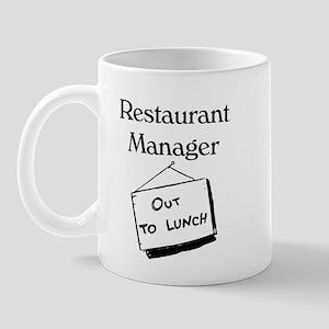 Restaurant Manager Mug
