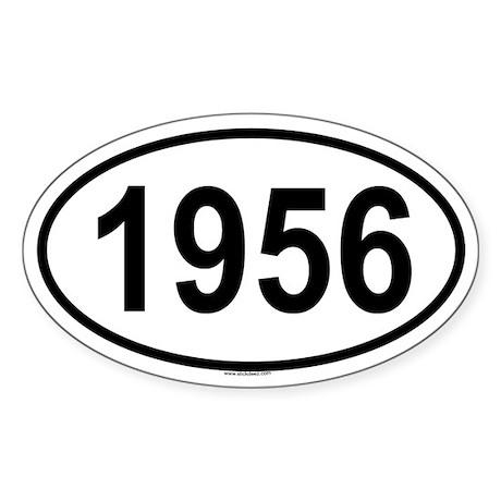 1956 Oval Sticker