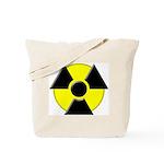 3D Radioactive Symbol Tote Bag
