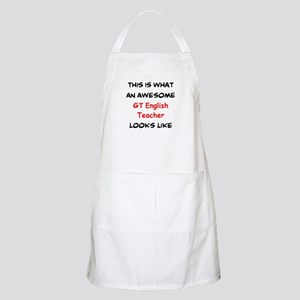 awesome gt english Light Apron