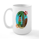 Hula Baby Large Mug