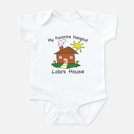 Favorite Hangout Lola's House Infant Bodysuit