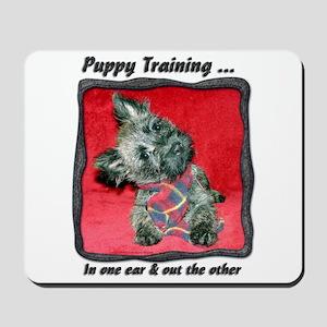Puppy Training Mousepad