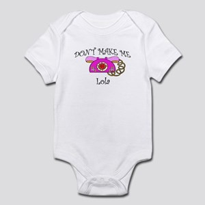 Call Lola with Pink Phone Infant Bodysuit