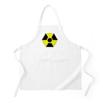 3D Radioactive Symbol BBQ Apron