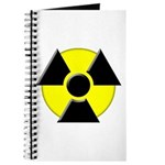 3D Radioactive Symbol Journal