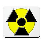 3D Radioactive Symbol Mousepad