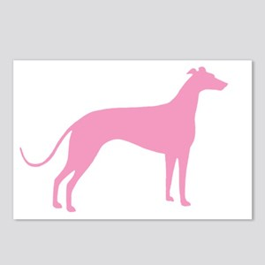 Pink Greyhound Postcards (Package of 8)
