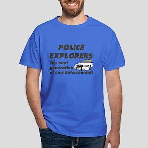 Explore Law Enforcement Dark T-Shirt