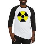 3D Radioactive Symbol Baseball Jersey
