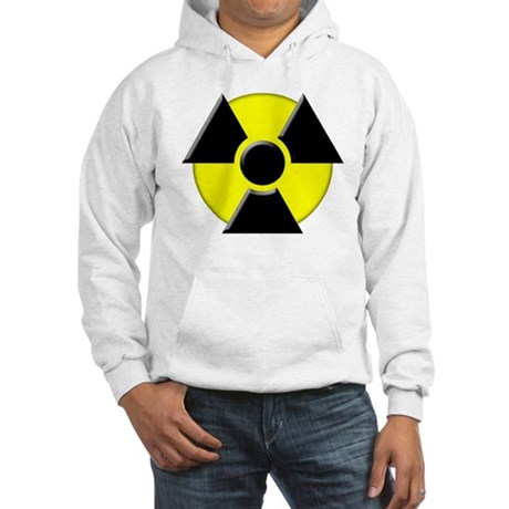 3D Radioactive Symbol Hooded Sweatshirt