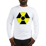 3D Radioactive Symbol Long Sleeve T-Shirt