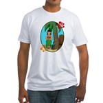 Hula Baby Fitted T-Shirt