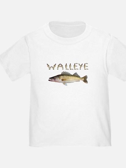 walleye font T-Shirt