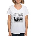 GOT GAS? Women's V-Neck T-Shirt
