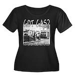 GOT GAS? Women's Plus Size Scoop Neck Dark T-Shirt