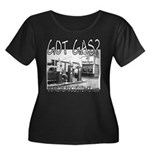GOT GAS? Women's Plus Size Scoop Neck Dark T-Shirt