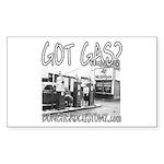 GOT GAS? Rectangle Sticker