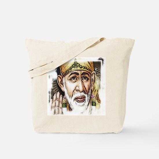 Cute Sai baba Tote Bag