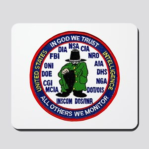 U.S Intelligence Mousepad