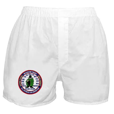 U.S Intelligence Boxer Shorts