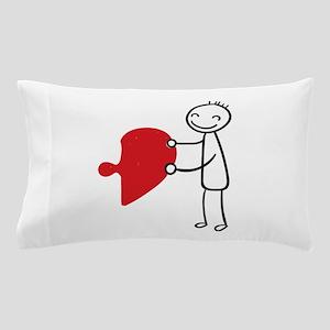 Piece of my Heart Pillow Case