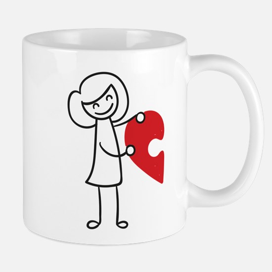Piece of my Heart Mugs