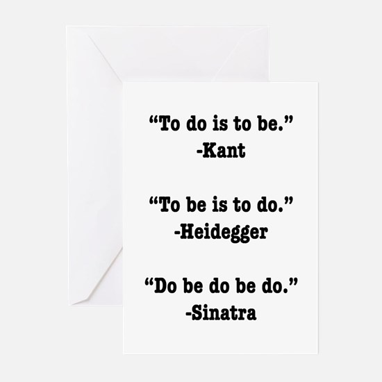Do Be Do Greeting Cards (Pk of 10)