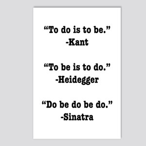 Do Be Do Postcards (Package of 8)