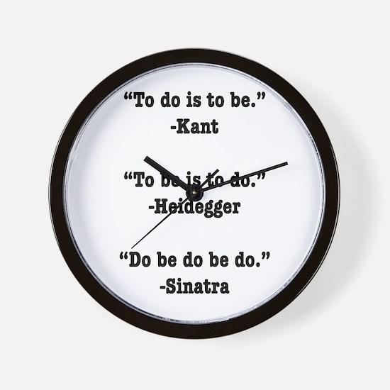 Do Be Do Wall Clock