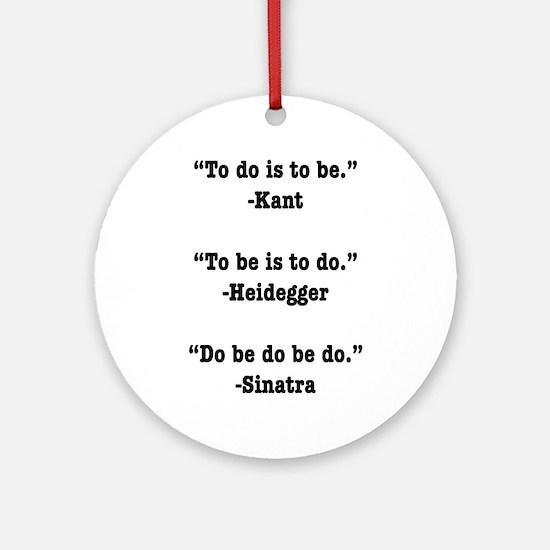 Do Be Do Ornament (Round)