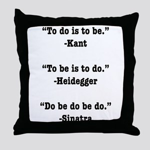 Do Be Do Throw Pillow