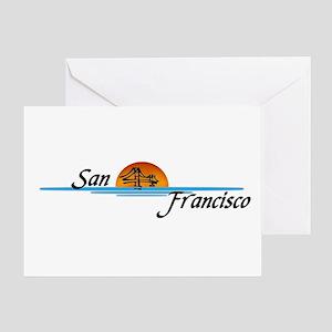 San Fransisco Greeting Card