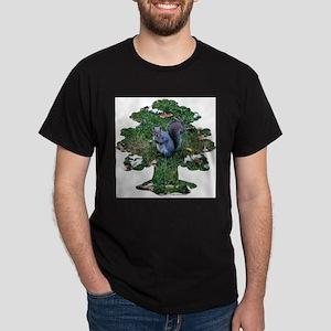 Squirrel Tree Dark T-Shirt