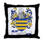 Rapalje Coat of Arms Throw Pillow