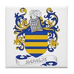 Rapalje Coat of Arms Tile Coaster