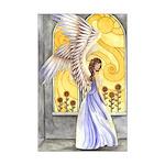 """Sunflower Angel"" Sun Angel Poster Angel Print"