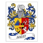 Rasey Coat of Arms Small Poster