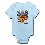 Rasey Coat of Arms Infant Creeper