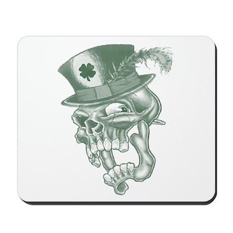 Irish Skully Mousepad