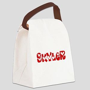 Skyler Love Design Canvas Lunch Bag