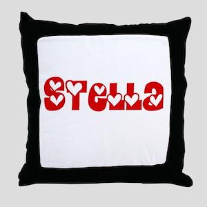 Stella Love Design Throw Pillow