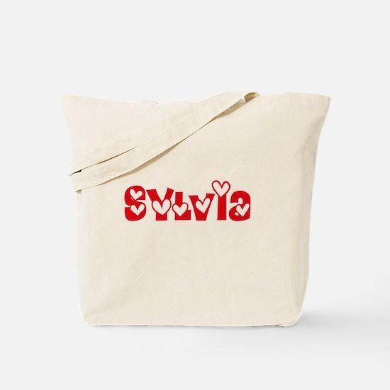 Sylvia Love Design Tote Bag