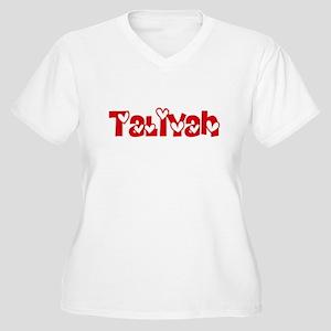 Taliyah Love Design Plus Size T-Shirt
