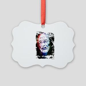 Sai Baba 1 Merchandise Picture Ornament