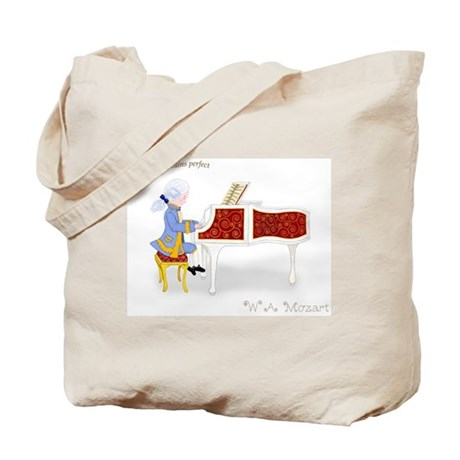 Practice Maintains Perfect Mozart Piano Book Bag