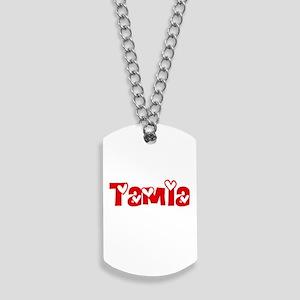 Tamia Love Design Dog Tags
