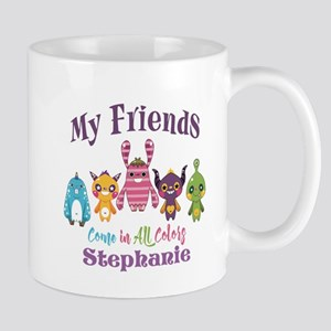 PERSONALIZED Friends Come in All Colors Mugs